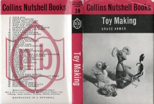 Nutshell Toy Making dustjacket