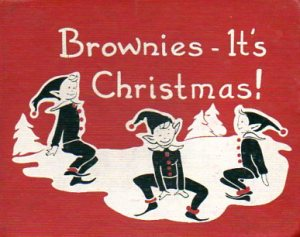 brownies christmas book