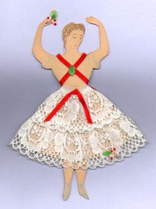 christmas dancing doll