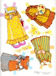 daisy paper doll clothes 1