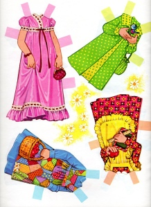 Daisy paper doll clothes 2