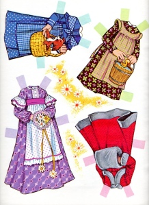 daisy paper doll clothes 3