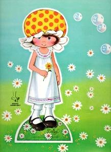 daisy paper doll
