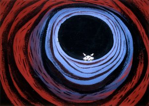 Conceptual art by Mary Blair for Disney's Alice in Wonderland