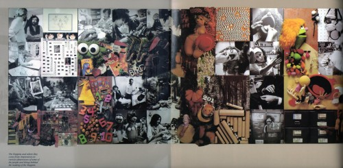 art of muppets gatefold left