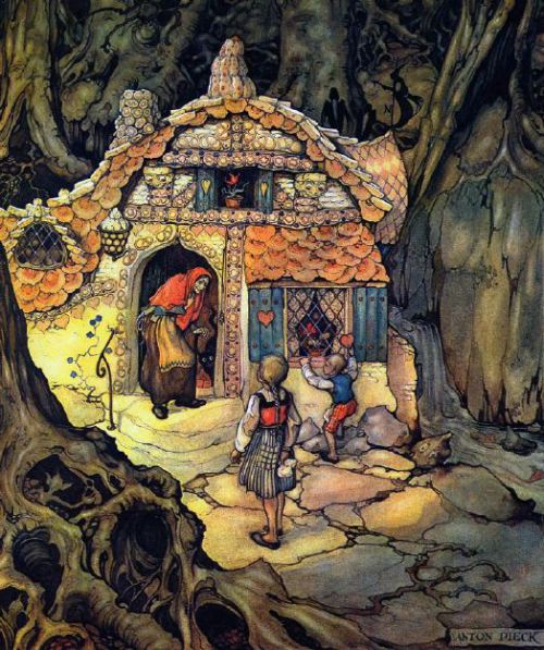 hansel-and-gretel - anton pieck