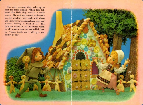 Hansel and Gretel puppet book