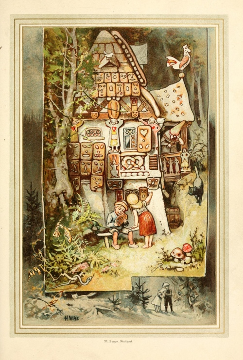 Hansel Gretel - Voodoo gingerbread house