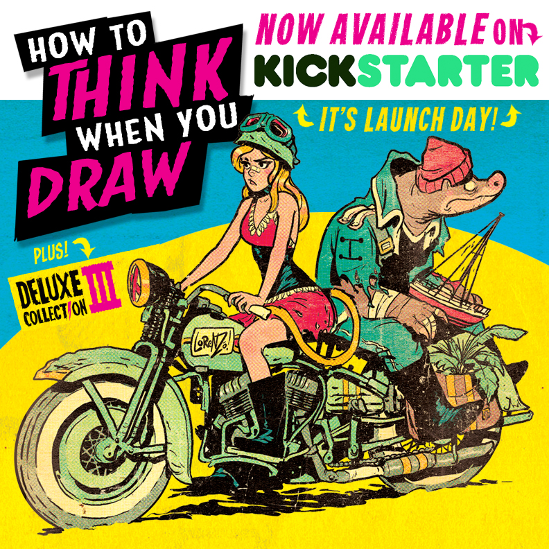 how to think when you draw