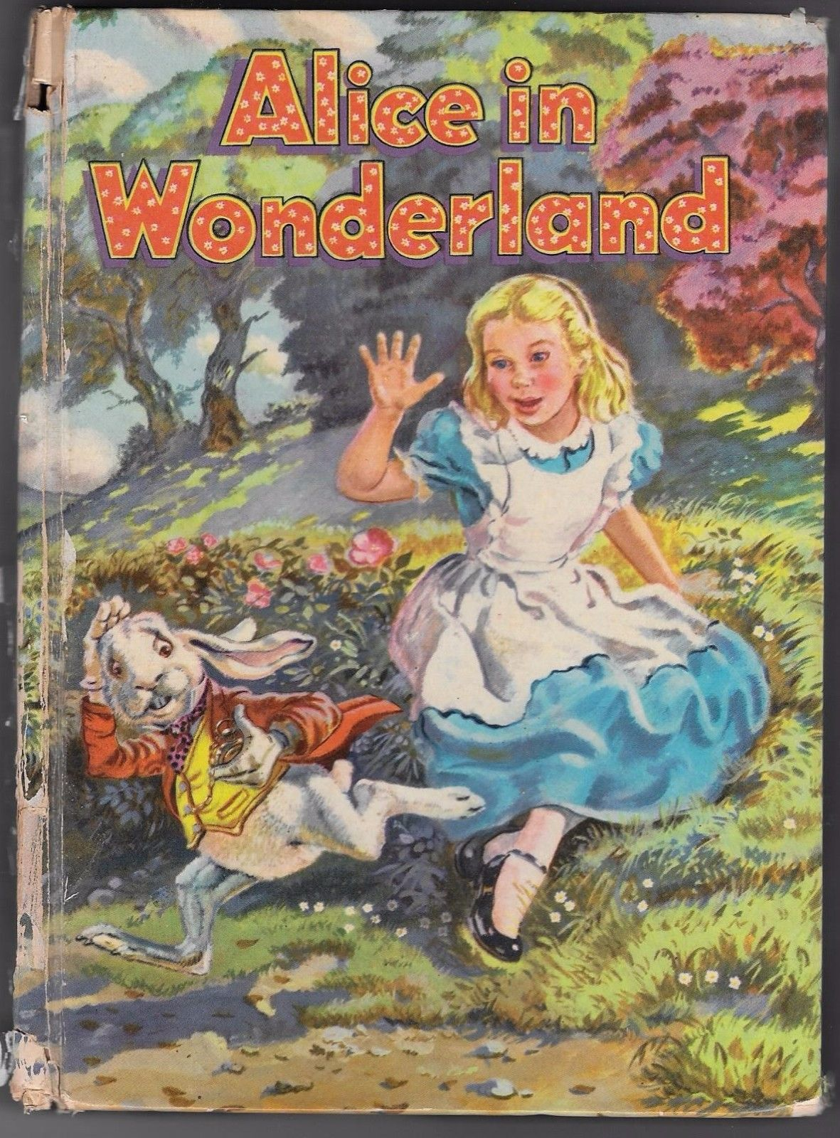 alice in wonderland 1955 - great rabbit face
