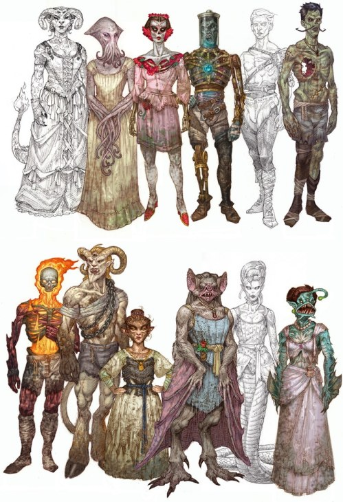 monster book of paperdolls cast