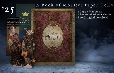 monster book of paperdolls pledge