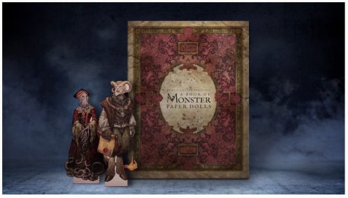 monster book of paperdolls